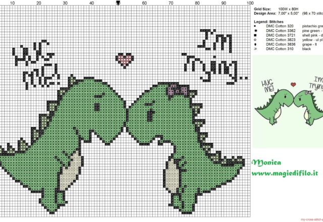 2_lovely_dinosaurs_cross_stitch_pattern_