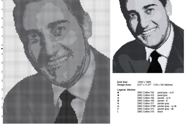 alberto_sordi_italian_actor_black_and_white_painting_free_cross_stitch_pattern