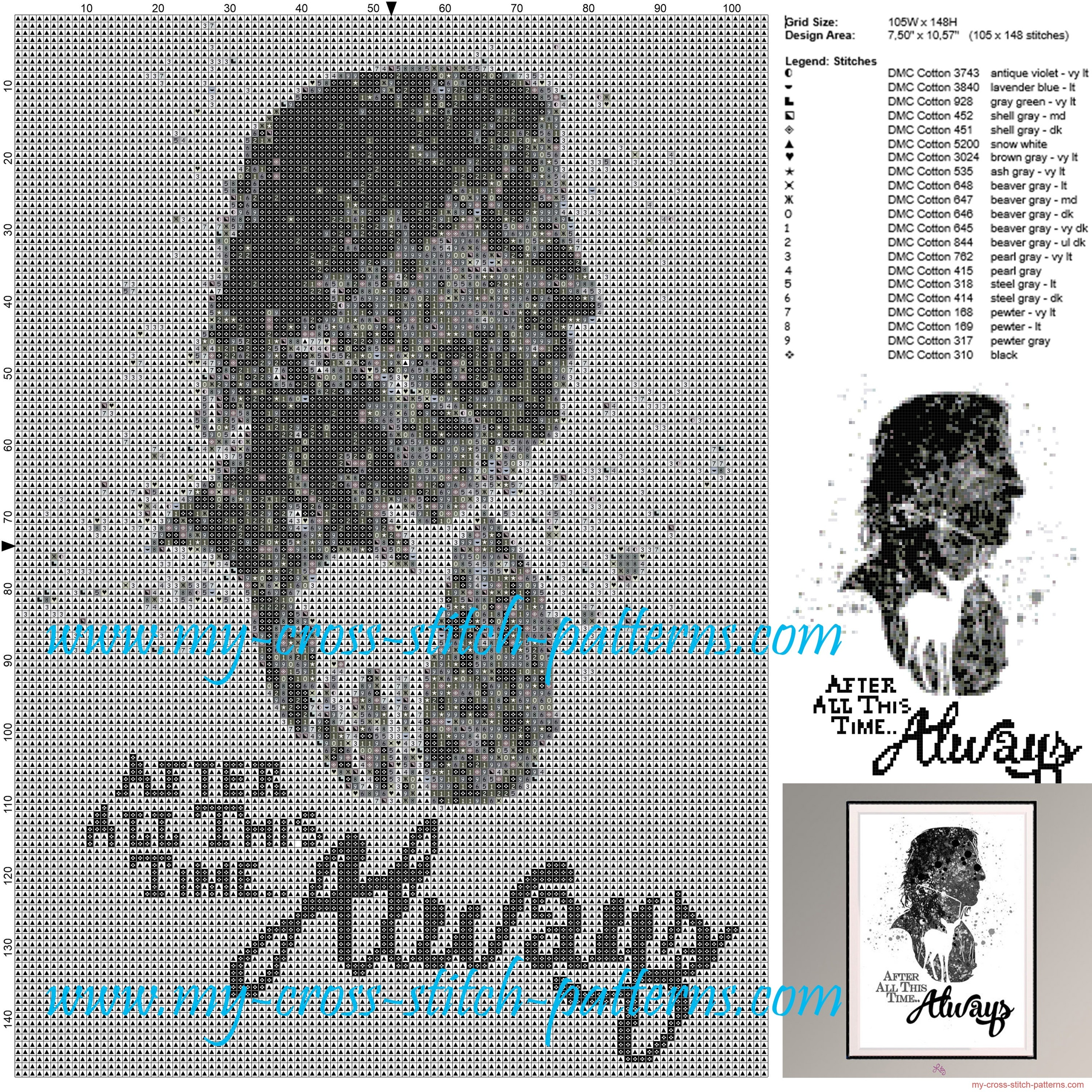 always_harry_potter_cross_stitch_pattern_