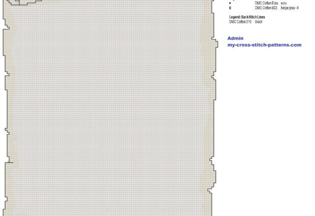 an_old_scroll_cross_stitch_pattern