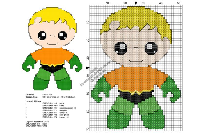 baby_aquaman_free_superheroes_cross_stitch_patterns_50x69