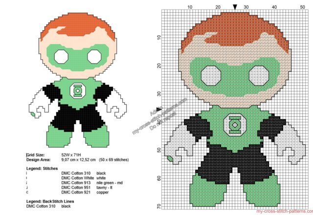 baby_green_lantern_free_superheroes_cross_stitch_patterns_50x69
