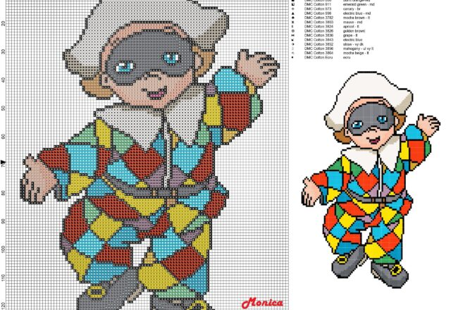 baby_harlequin_cross_stitch_pattern_