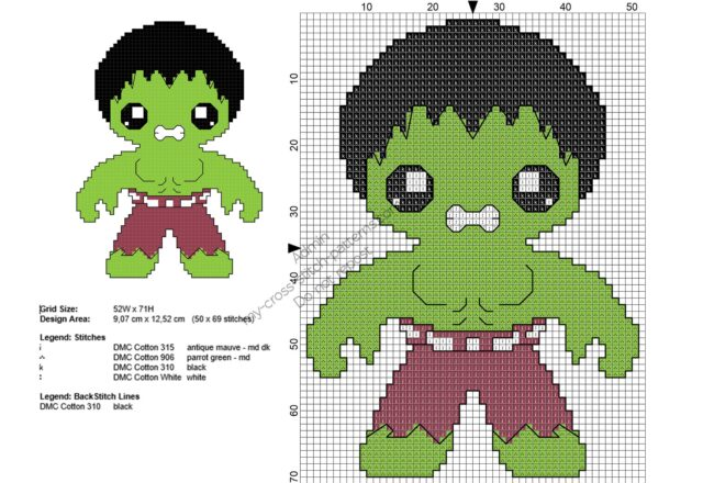 baby_hulk_free_superheroes_cross_stitch_patterns