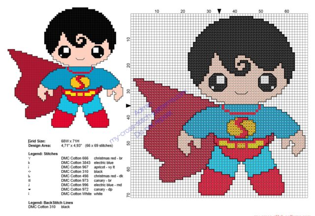 baby_superman_superheroes_free_cross_stitch_patterns