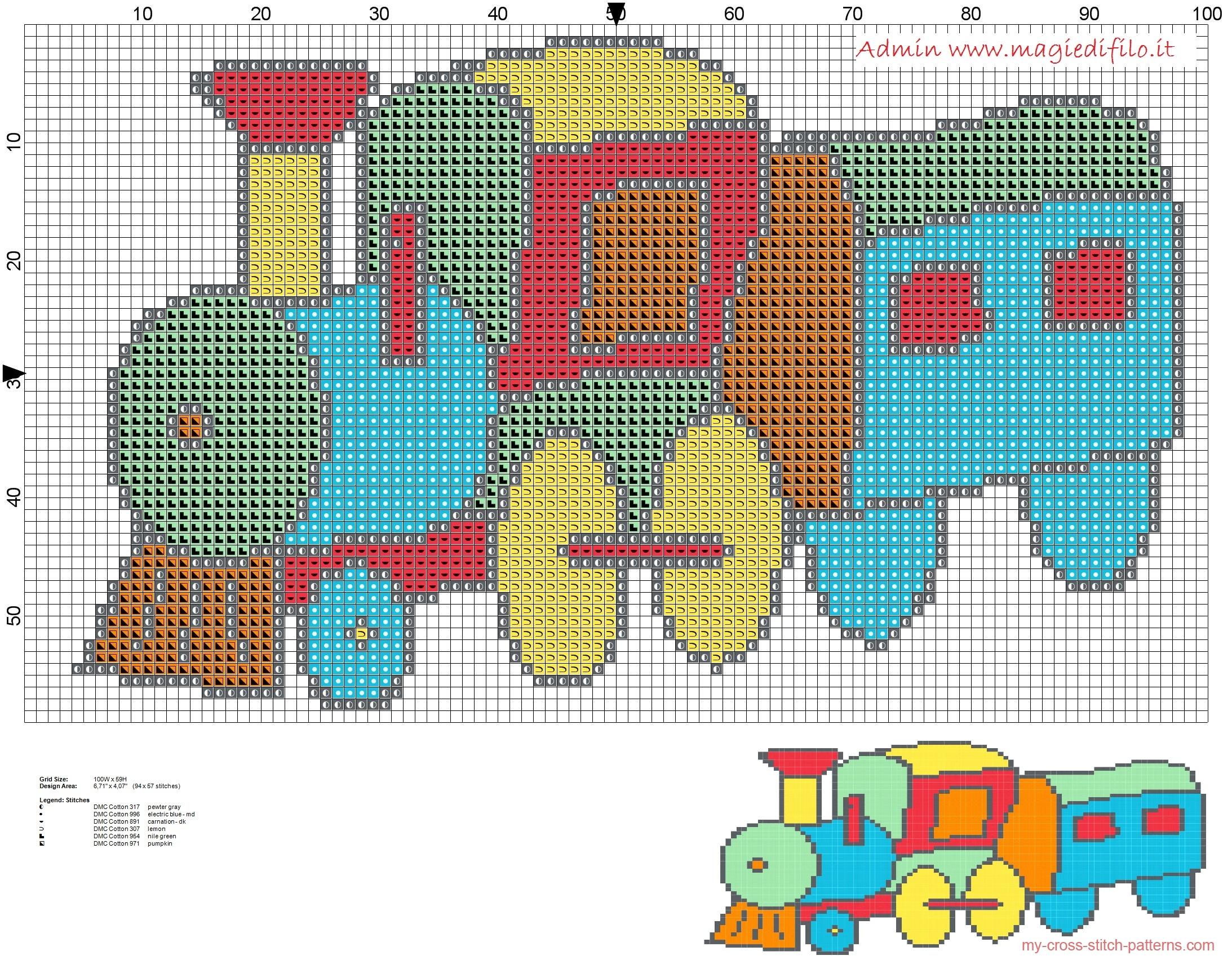 baby_train_colorful_cross_stitch_pattern_free