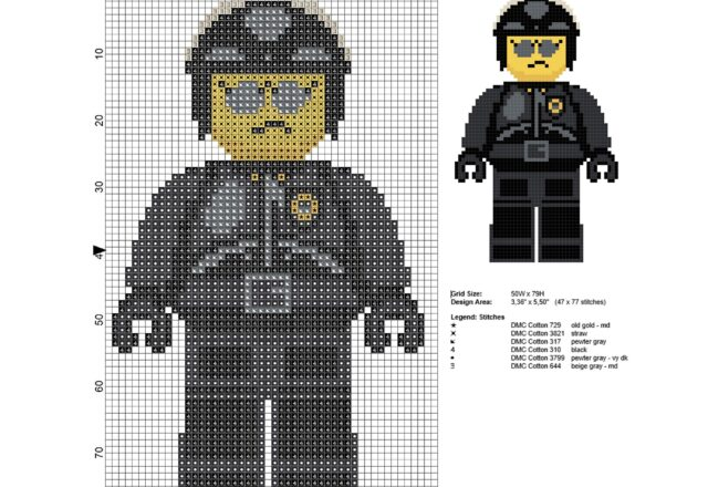 bad_cop_the_lego_movie_character_free_cross_stitch_pattern