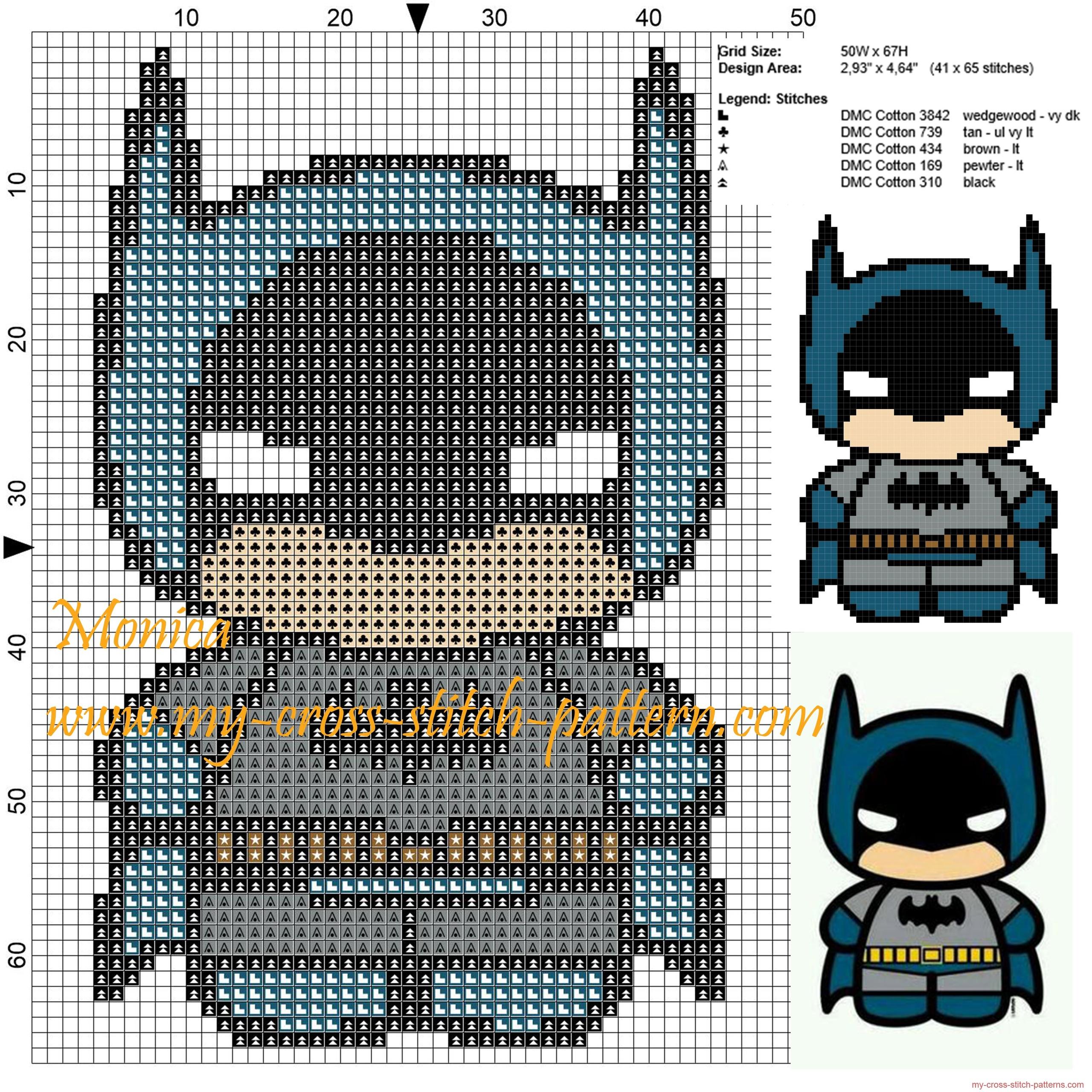 batman_chibi_cross_stitch_pattern_