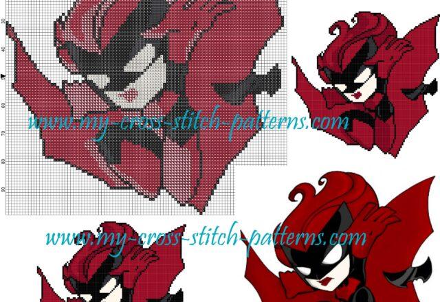 batwoman_cross_stitch_pattern_