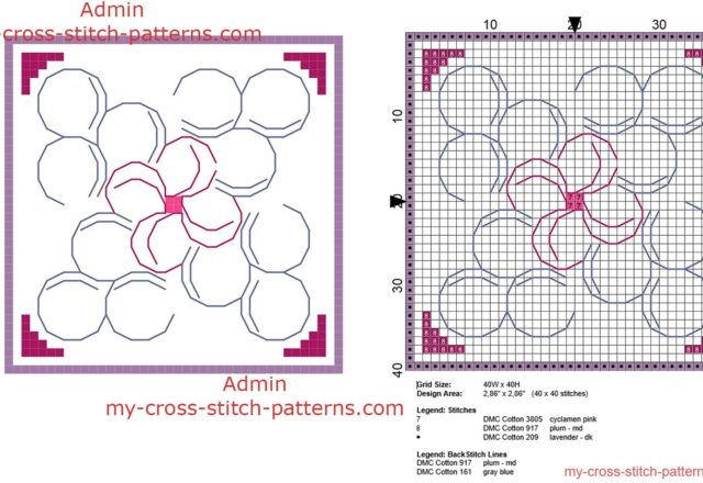 biscornu_petals_shape_40_x_40_stitches_size_free_cross_stitch_pattern_download