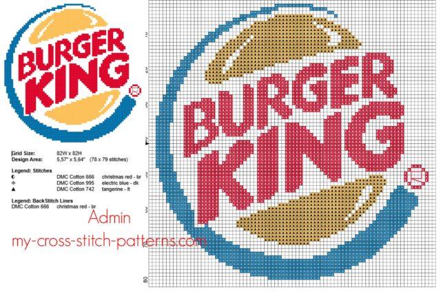 burger_king_fast_food_logo_free_cross_stitch_pattern