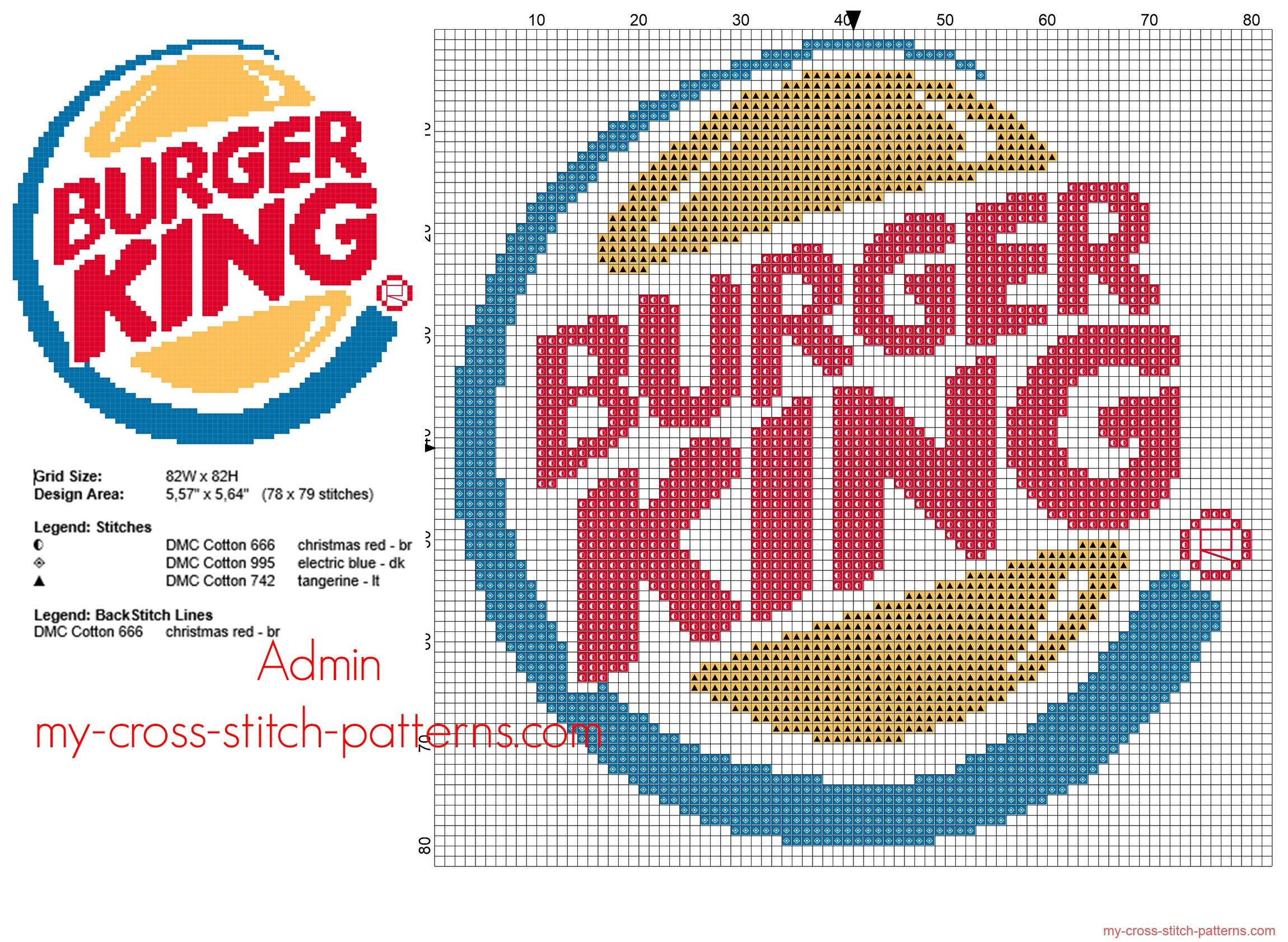 burger_king_fast_food_logo_free_cross_stitch_pattern