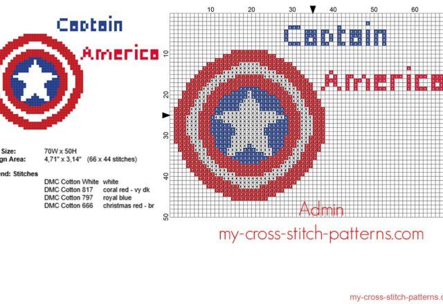 captain_america_superhero_logo_free_cross_stitch_pattern_66_x_44_stitches_4_dmc_threads