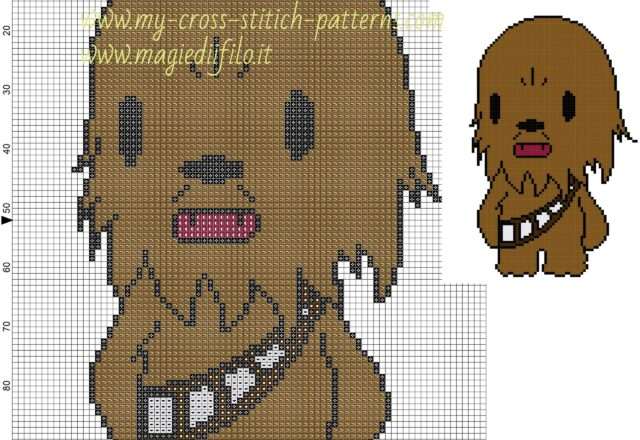 chewbecca_star_wars_cross_stitch_pattern