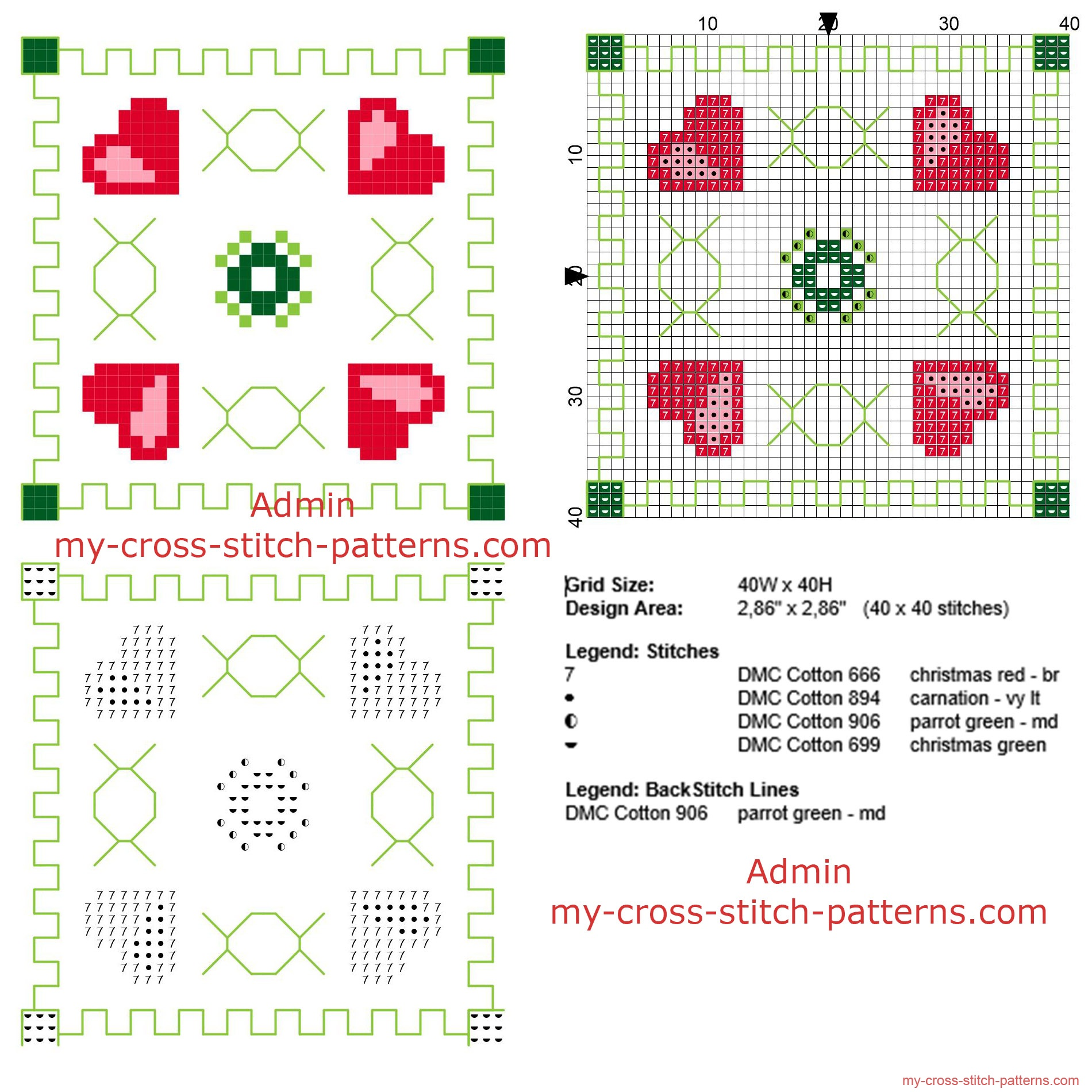 cross_stitch_biscornu_pattern_with_four_hearts_and_geometric_shapes_size_40_x_40_stitches