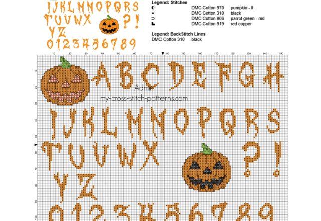 cross_stitch_halloween_alphabet_with_pumpkins