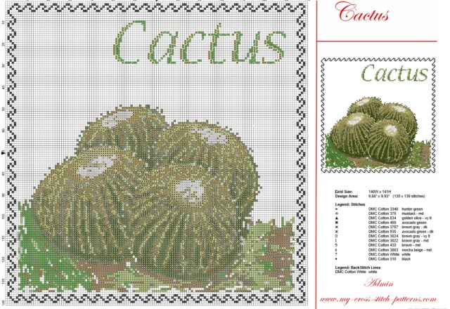 cross_stitch_painting_with_succulent_cactus_pcstitch_free_pattern