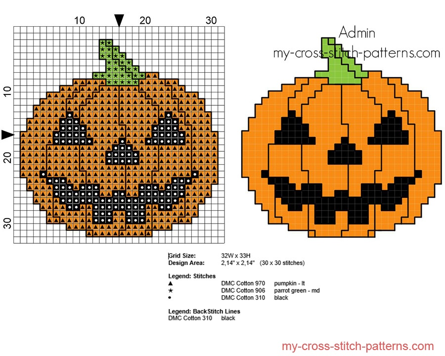 cross_stitch_pattern_small_halloween_pumpkin_with_black_eyes_and_mouth