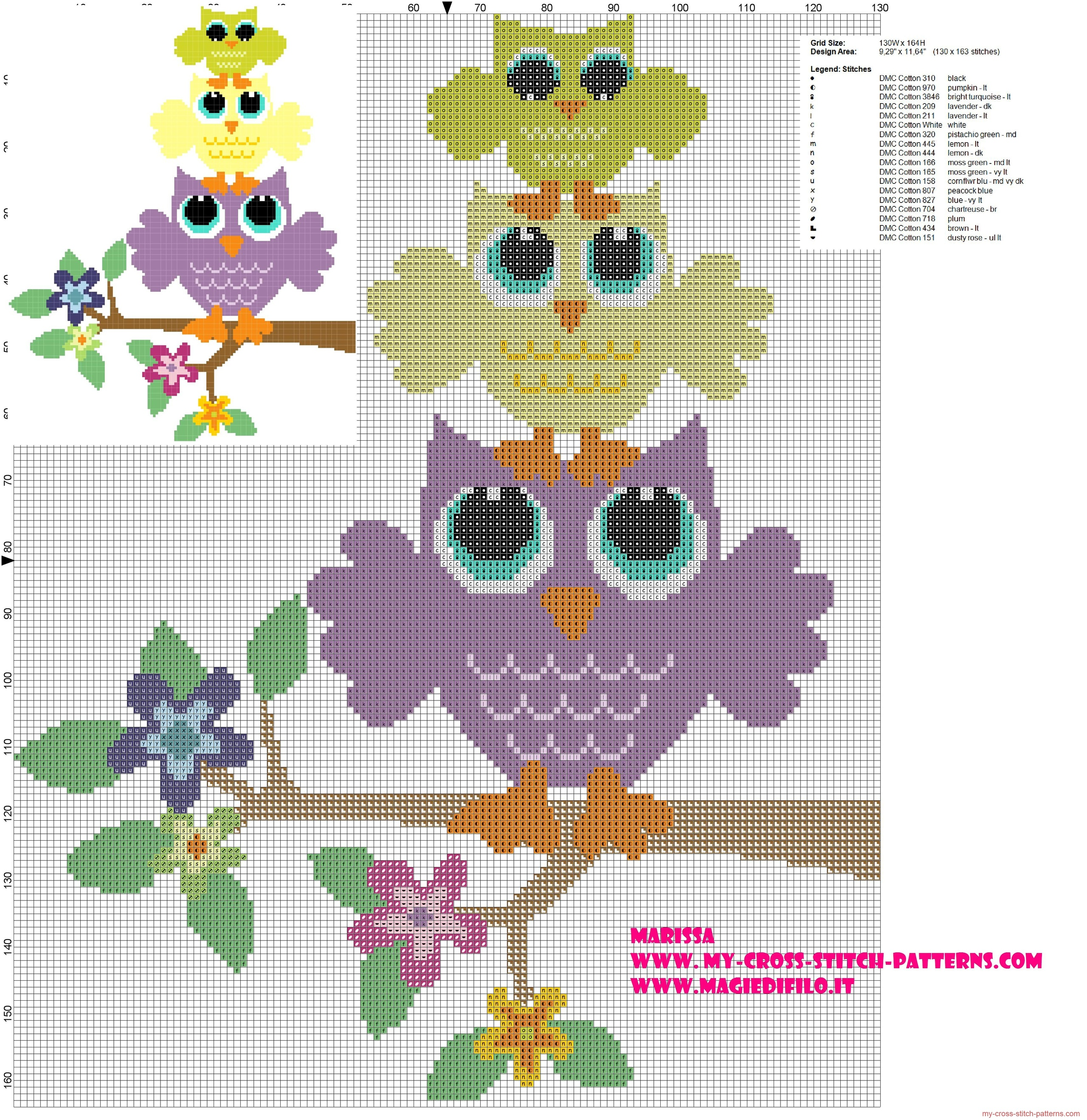 cross_stitch_pattern_with_owls_in_the_tower_of_flowering_branch