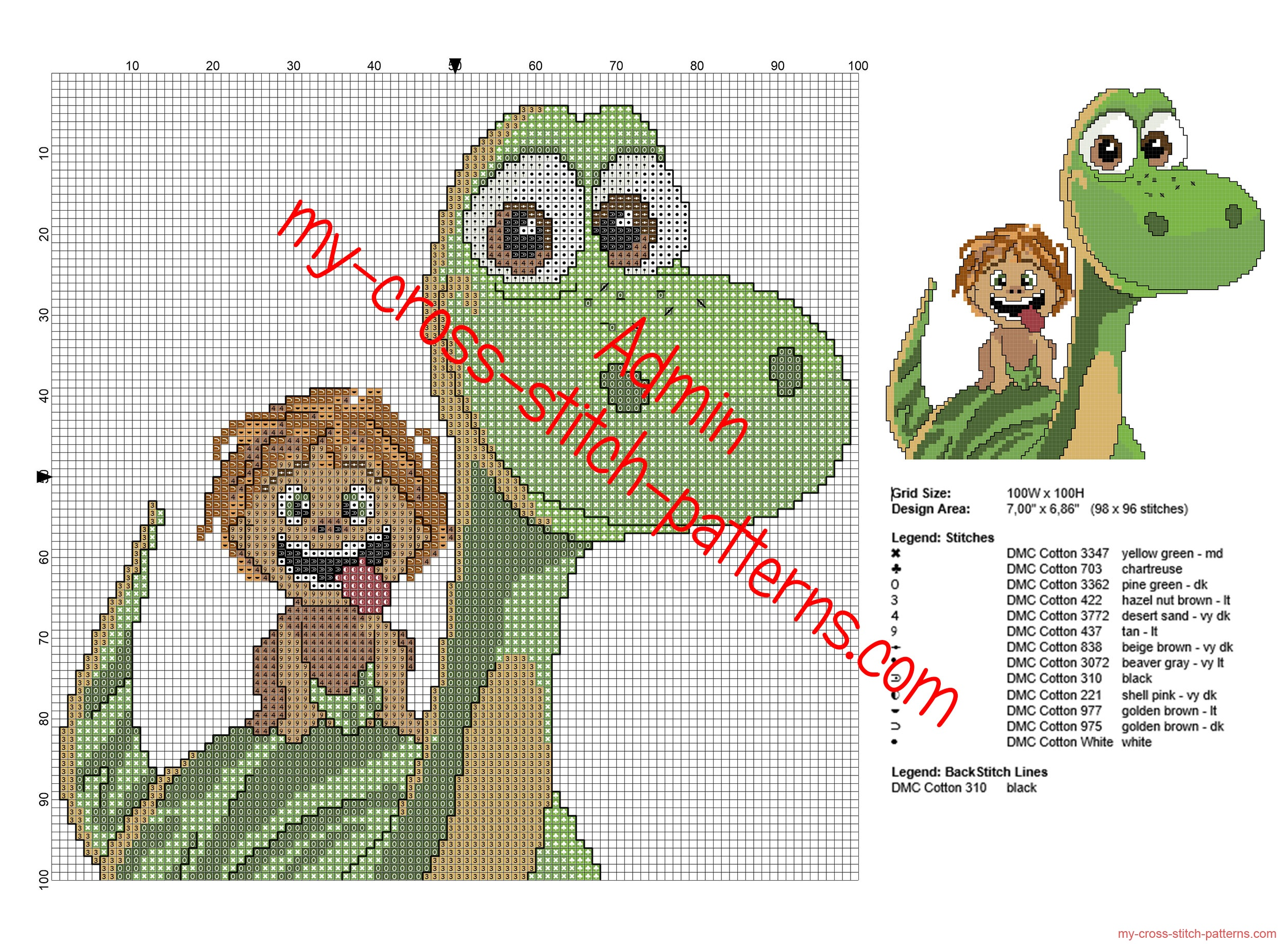 disney_the_good_dinosaur_free_cross_stitch_pattern