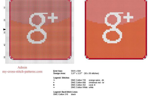 google___plus_free_and_small_cross_stitch_pattern