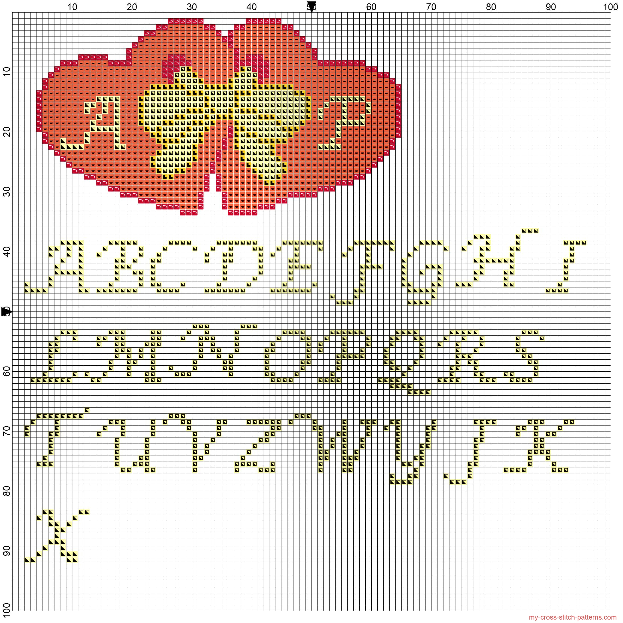 heart_with_yellow_ribbon_and_initials