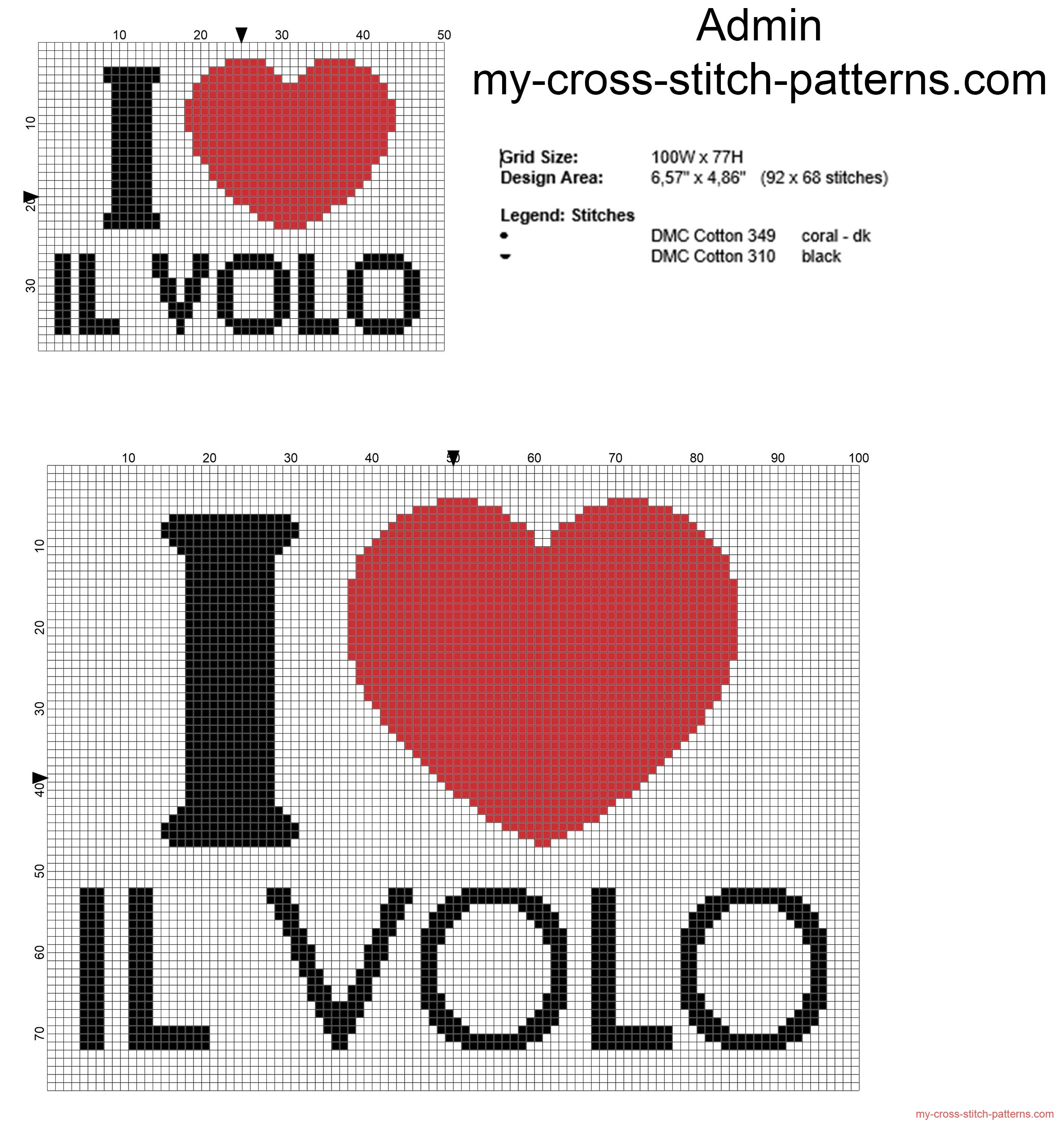 i_love_il_volo_italian_music_band_free_cross_stitch_pattern_in_two_sizes_small_and_big