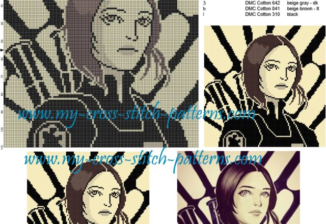 jyn_erso_star_wars_cross_stitch_pattern_