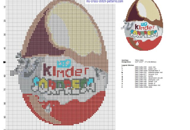 kinder_surprise_kinder_egg_cross_stitch_pattern_height_100_stitches