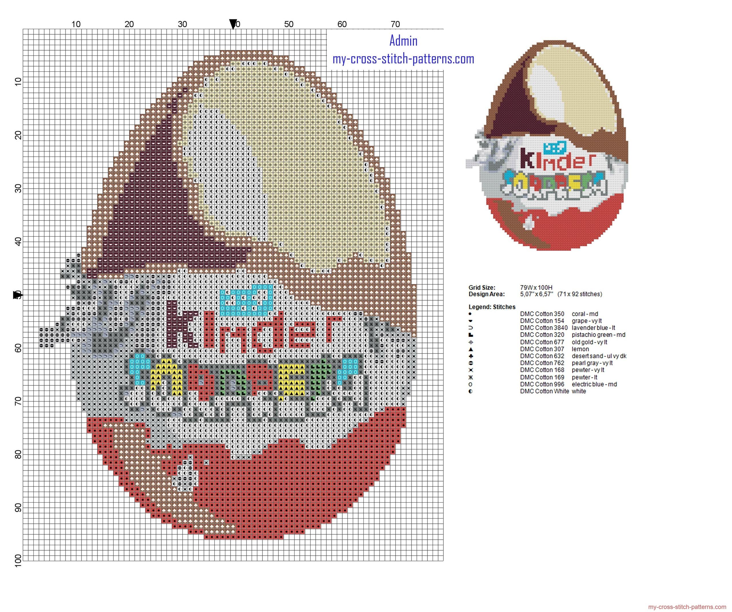 kinder_surprise_kinder_egg_cross_stitch_pattern_height_100_stitches
