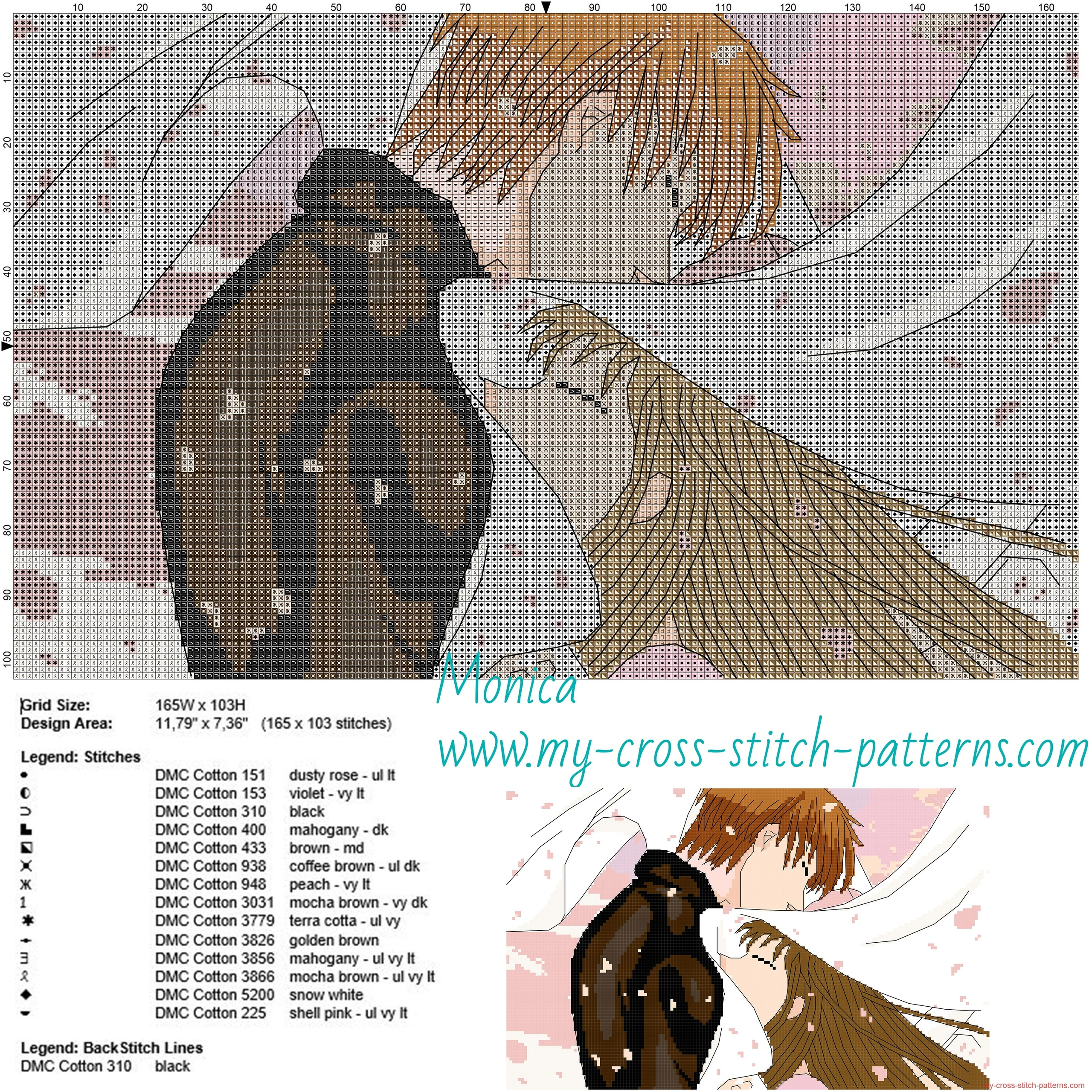 kyo_and_tohru_fruits_basket_cross_stitch_pattern_