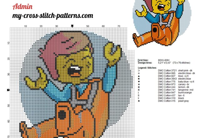 lego_emmet_brickowski_the_lego_movie_cross_stitch_pattern