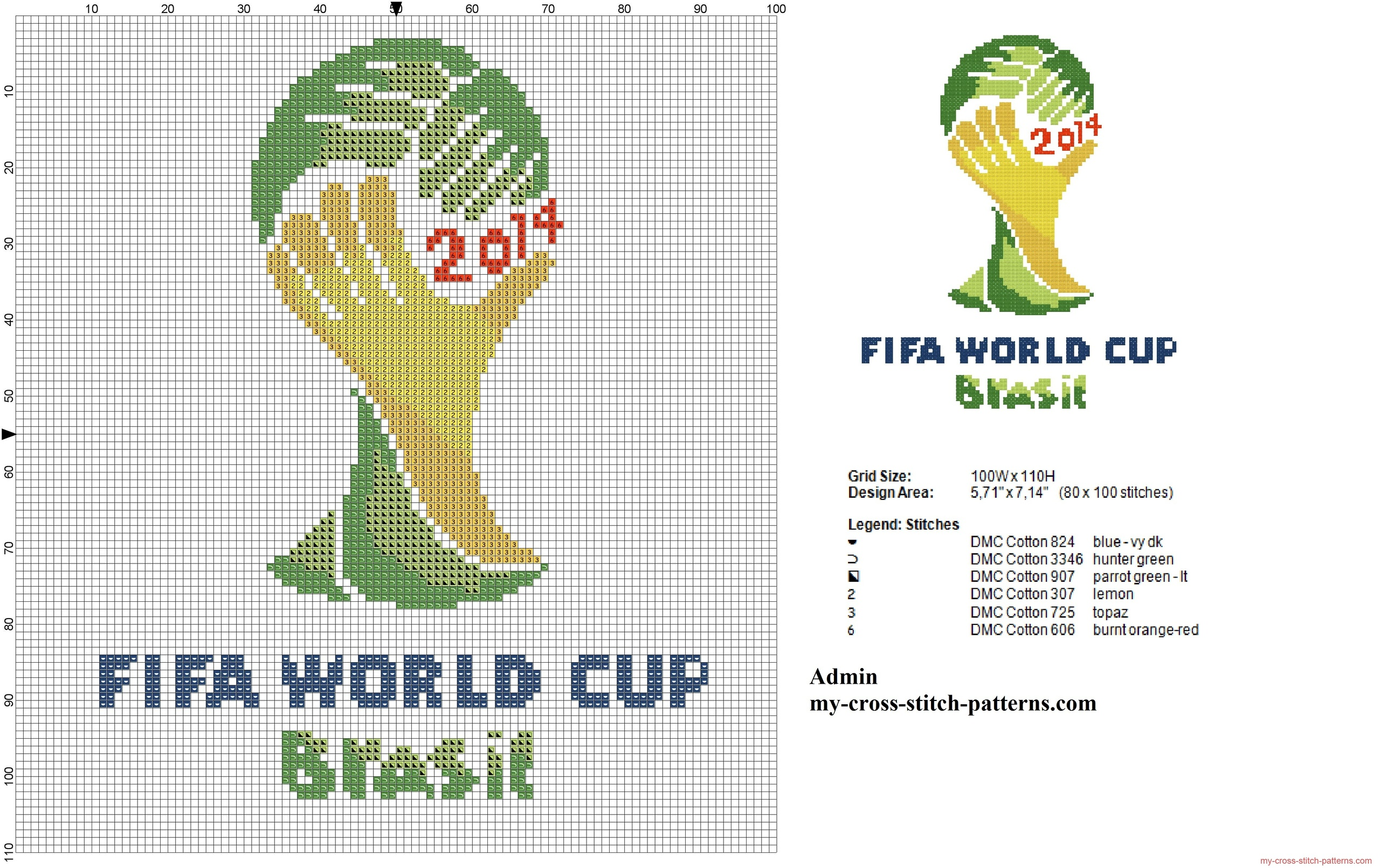 logo_fifa_world_cup_2014_cross_stitch_pattern