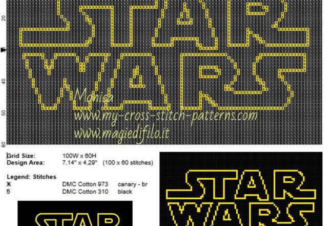 logo_star_wars_cross_stitch_pattern_