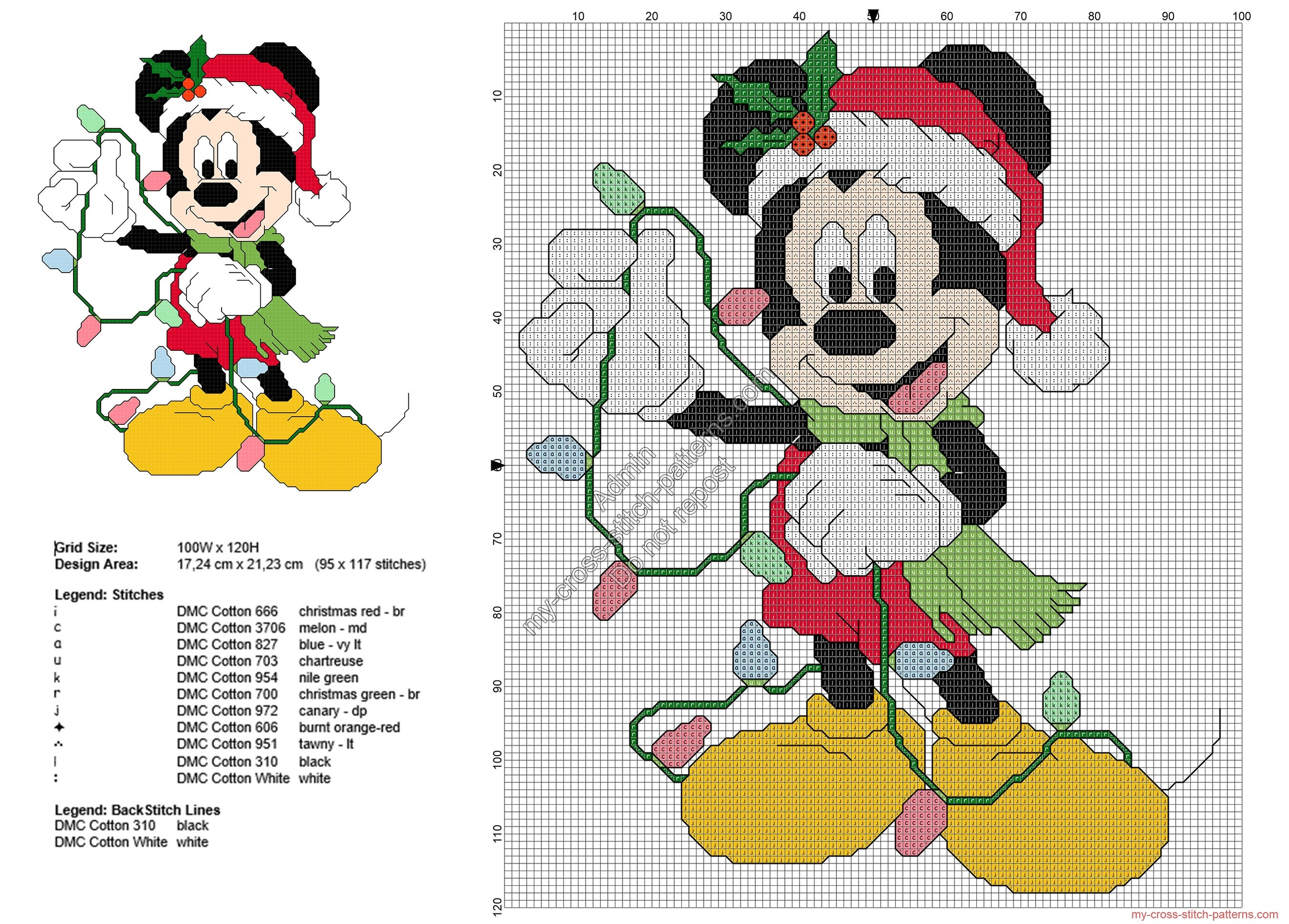 mickey_mouse_with_christmas_lights_free_cross_stitch_pattern_95x117