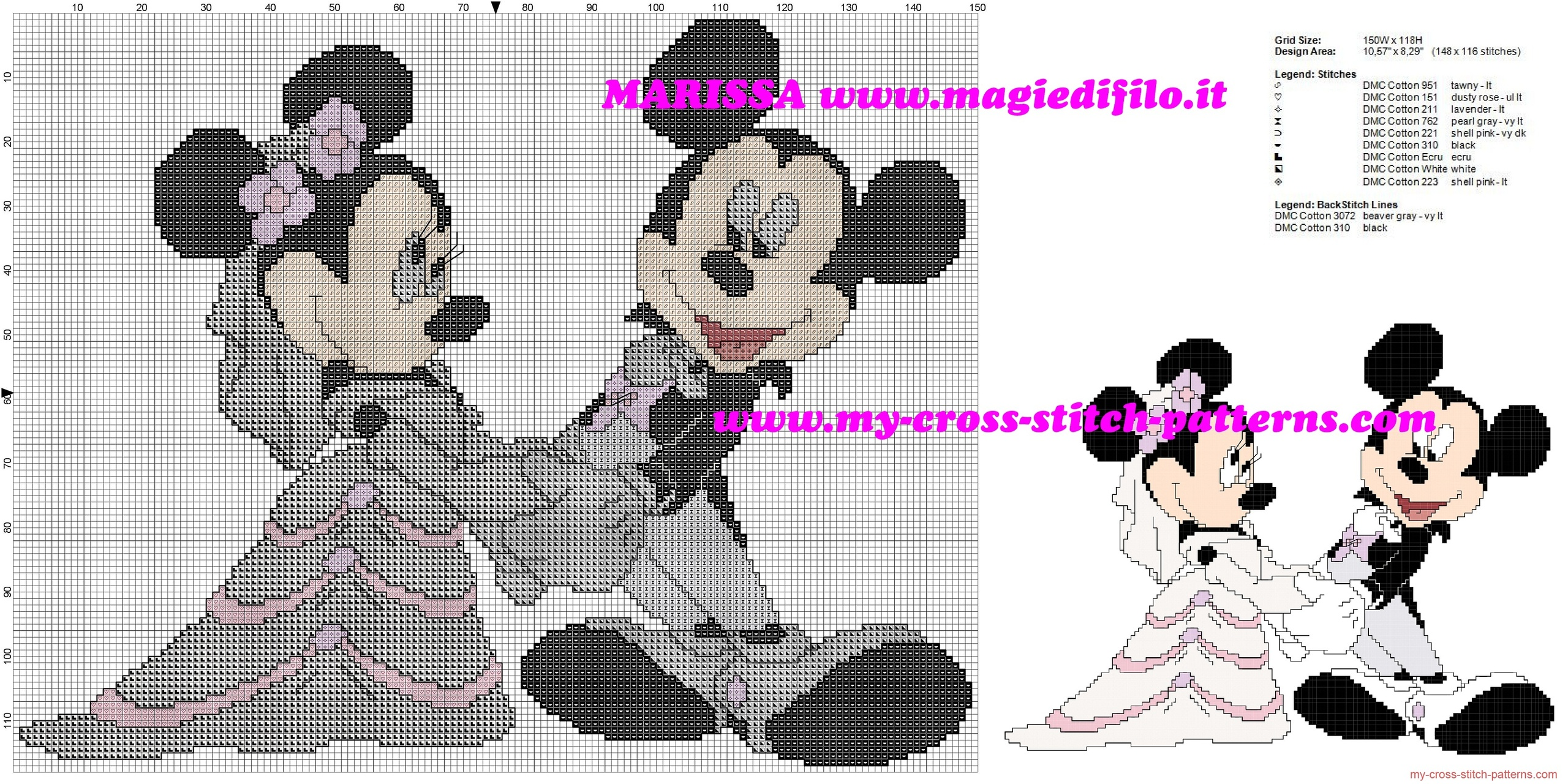 minnie_and_mickey_mouse_married_free_cross_stitch_pattern_