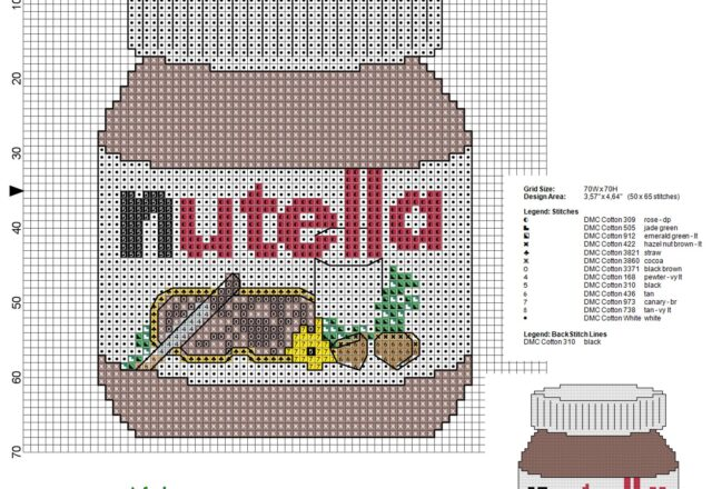 nutella_jar_cross_stitch_pattern_50_x_65_stitches_13_dmc_threads