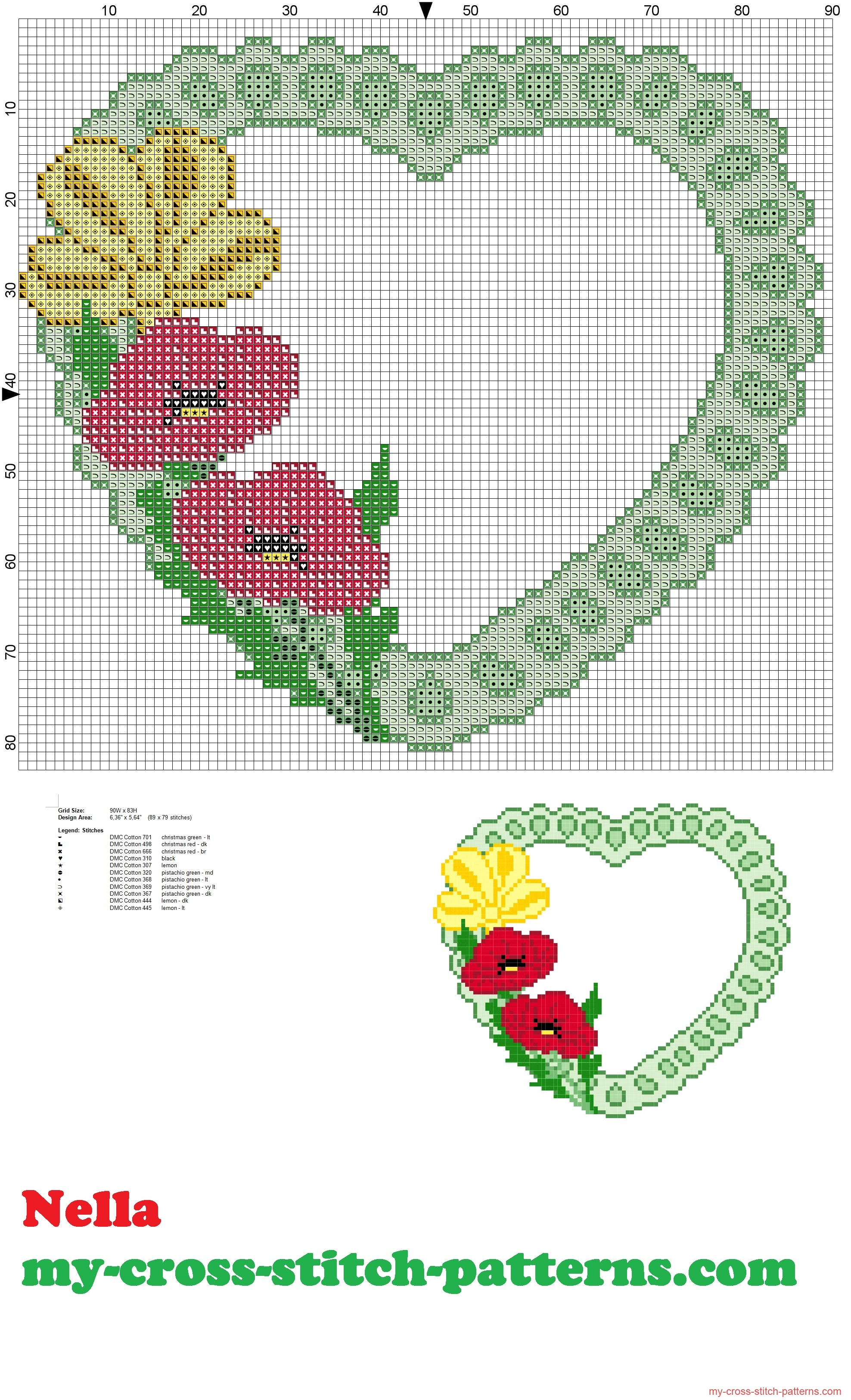 pillow_rings_heart_with_poppies