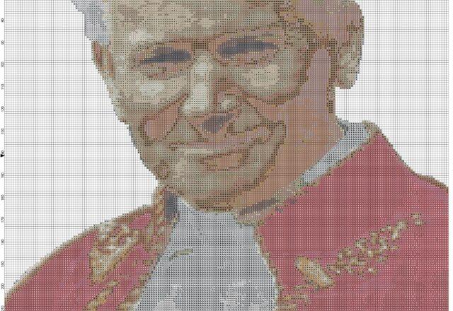 pope_john_paul_ii_pope_wojtyla_cross_stitch_pattern_full_pattern
