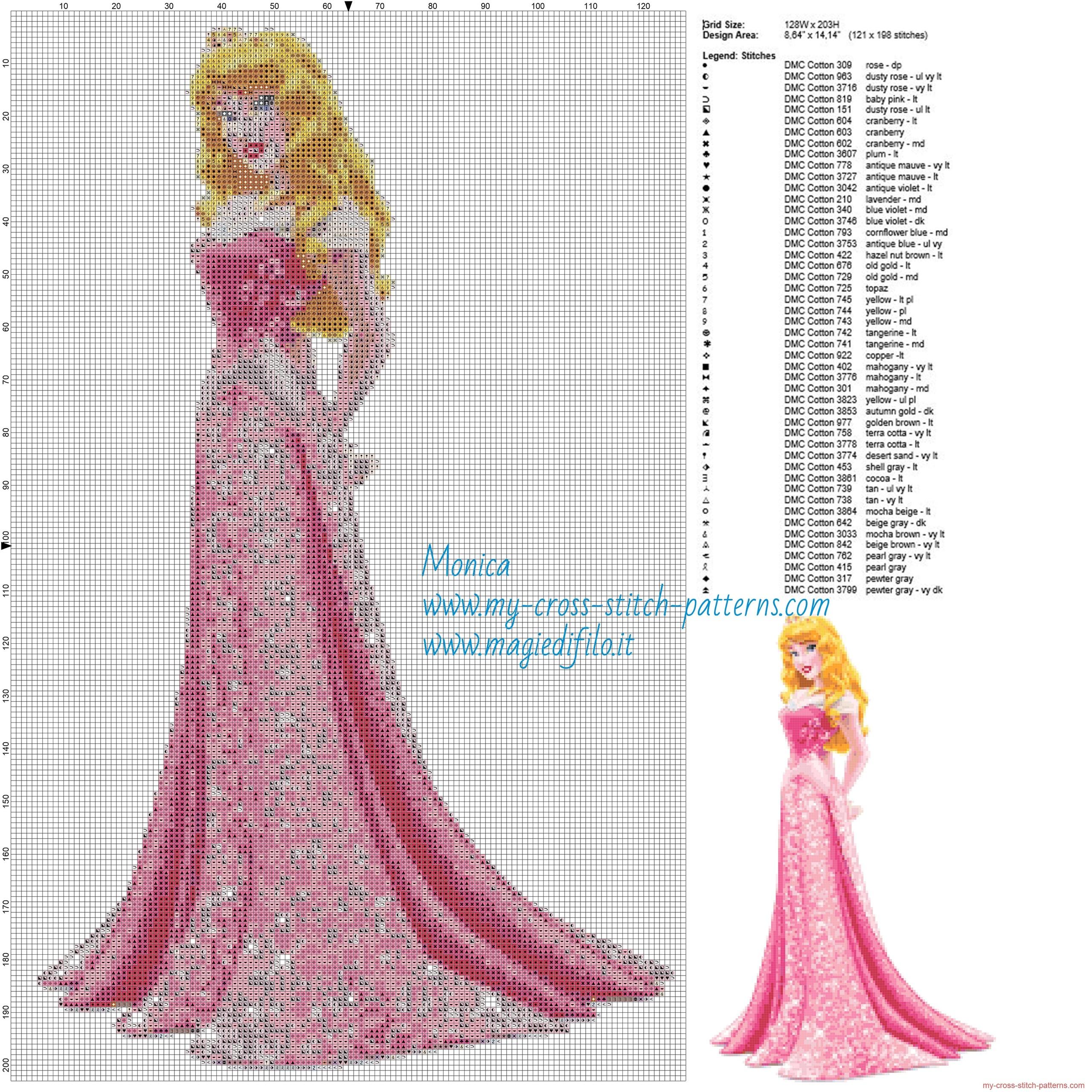 Aurora princess cross stitch disney Aurora princess silhouette cross stitch pattern cross stitch princess cross stitch Aurora