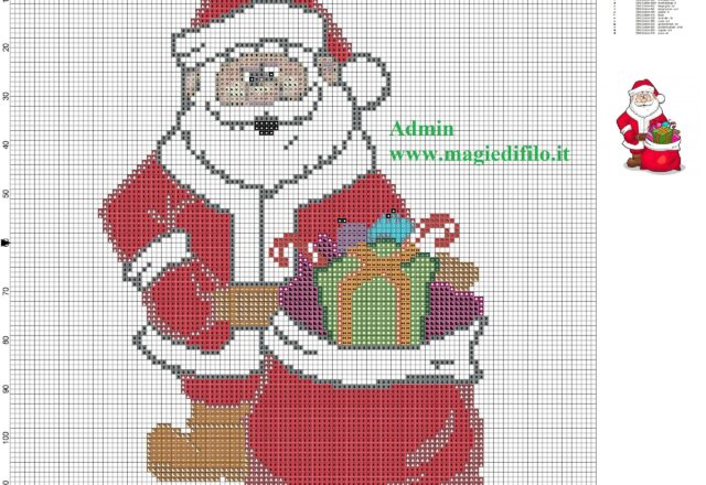 santa_claus_cross_stitch_pattern_free