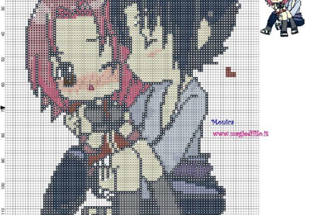 sasuke_e_sakura_naruto_cross_stitch_pattern