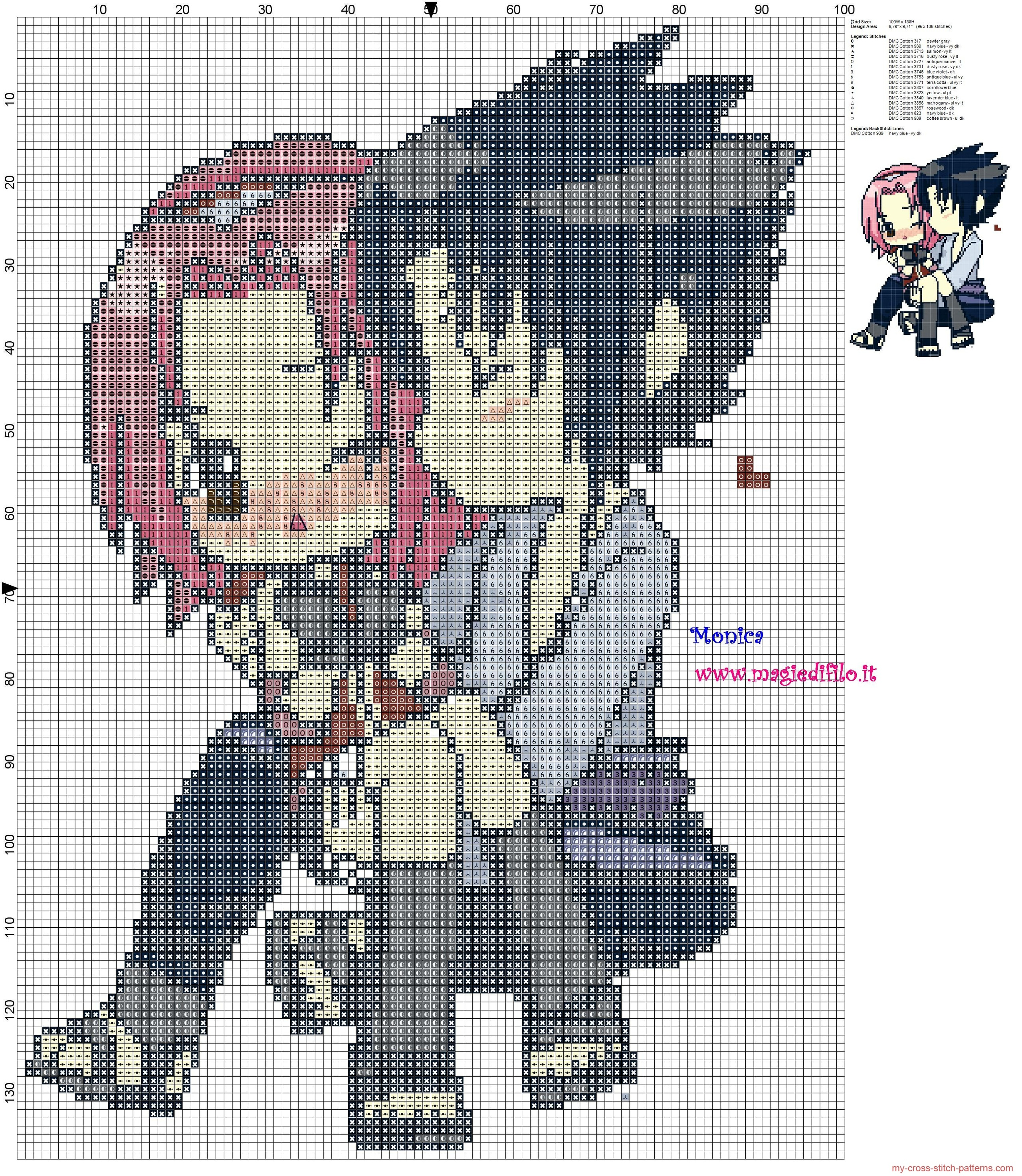sasuke_e_sakura_naruto_cross_stitch_pattern