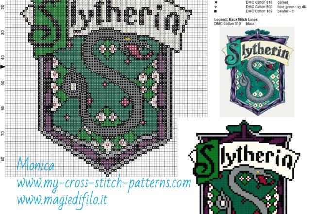 slytherin_cross_stitch_pattern_