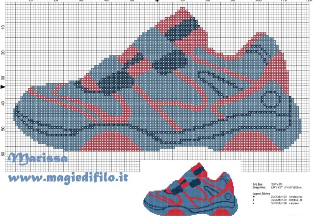 sneakers_blue_of_child