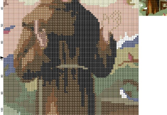 st__francis_of_assisi_cross_stitch_pattern
