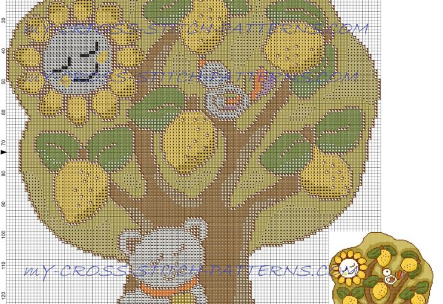 the_four_seasons_thun_summer_free_cross_stitch_pattern