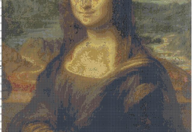 the_mona_lisa_cross_stitch_pattern_full_pattern