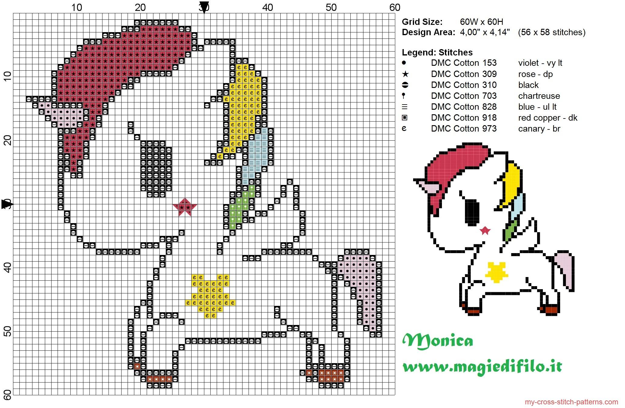 tokidokis_unicorn_cross_stitch_pattern