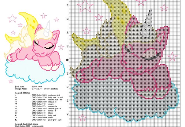 unicorn_sleeping_on_the_clouds_free_cross_stitch_pattern